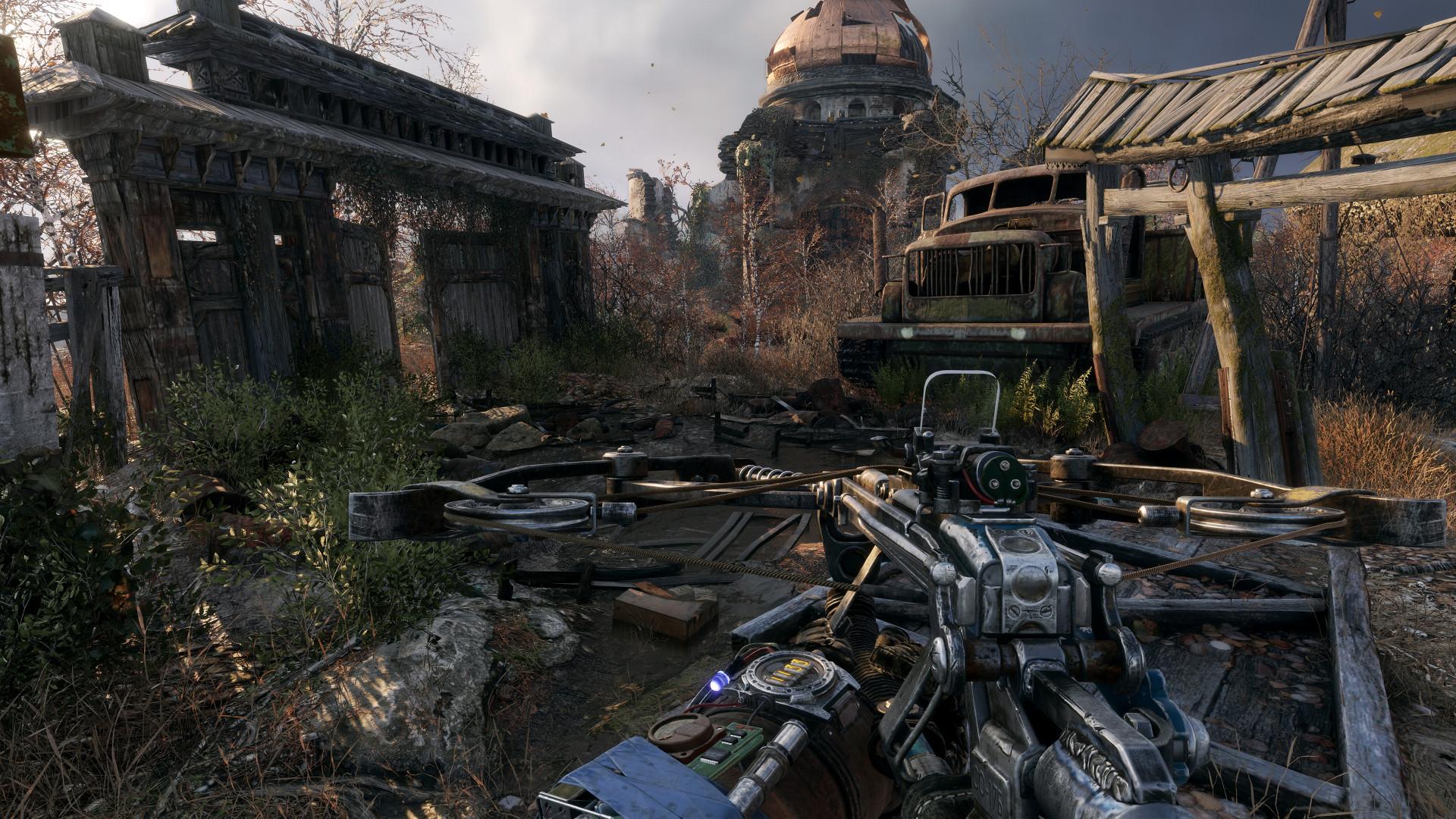 Появился 17 минутный геймплей Metro Exodus в 4K: крафт, кастомизация оружия, перестрелки и мутанты