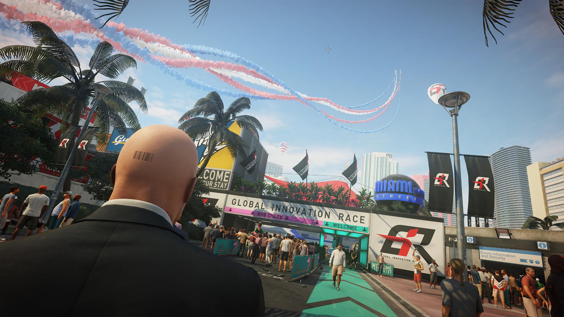 Полчаса геймплея Hitman 2 уже можно посмотреть: Агент 47 в Майами