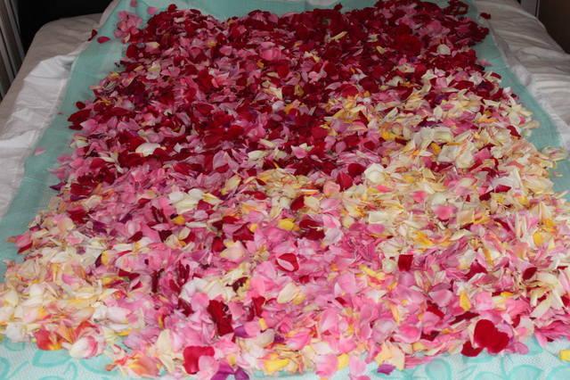 Ферментированный чай из лепестков роз