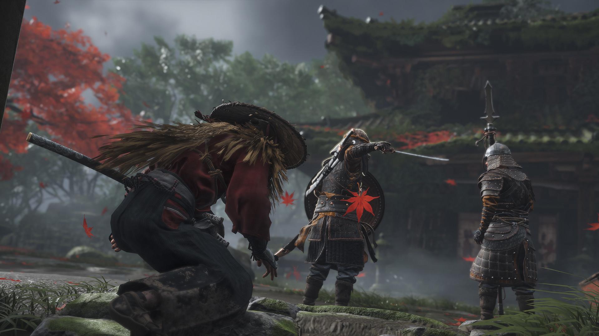Ghost of Tsushima будет хардкорной игрой с масштабным интерактивным миром Японии 13 века