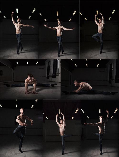 Танцор балета - Растровый клипарт / Ballet dancer - Raster clipart