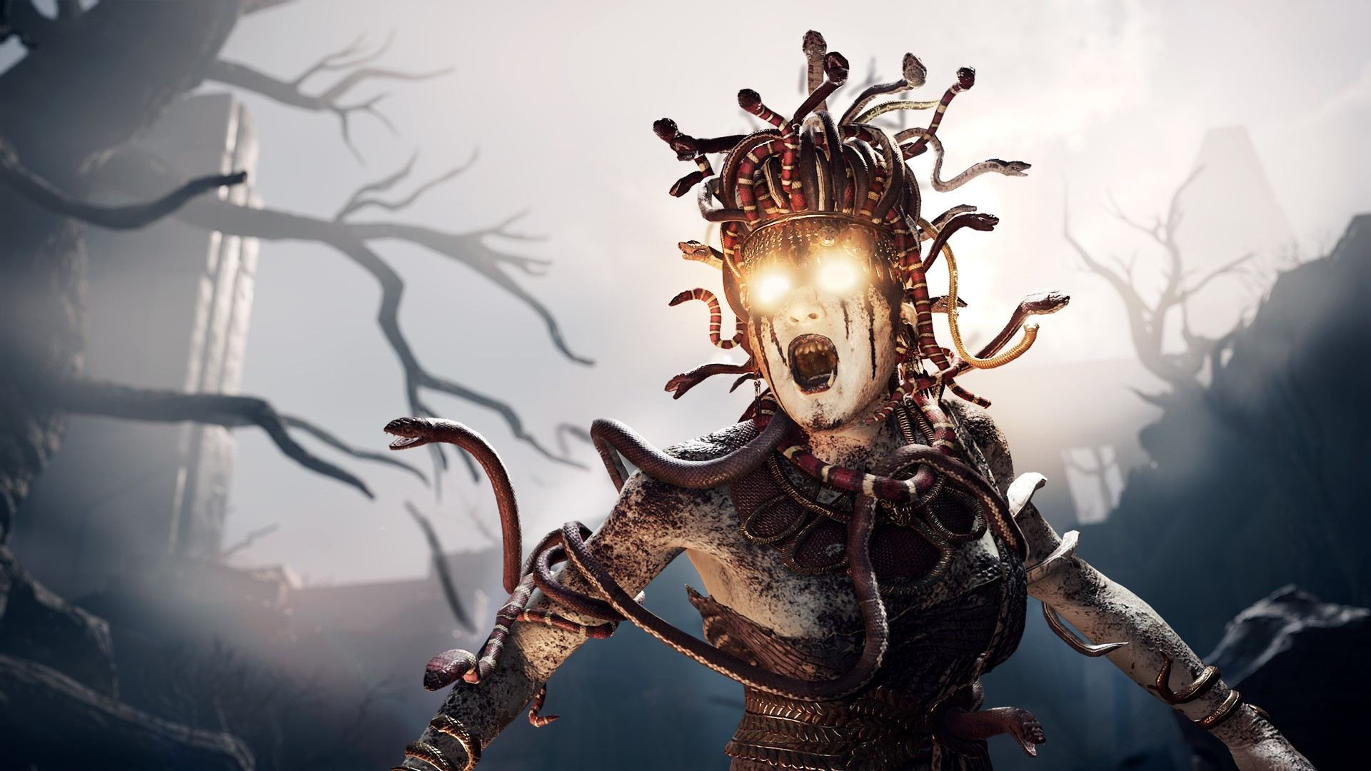 Час геймплея Assassin's Creed Odyssey: стелс, убийство врагов горящим копьем и романтические прогулки под луной