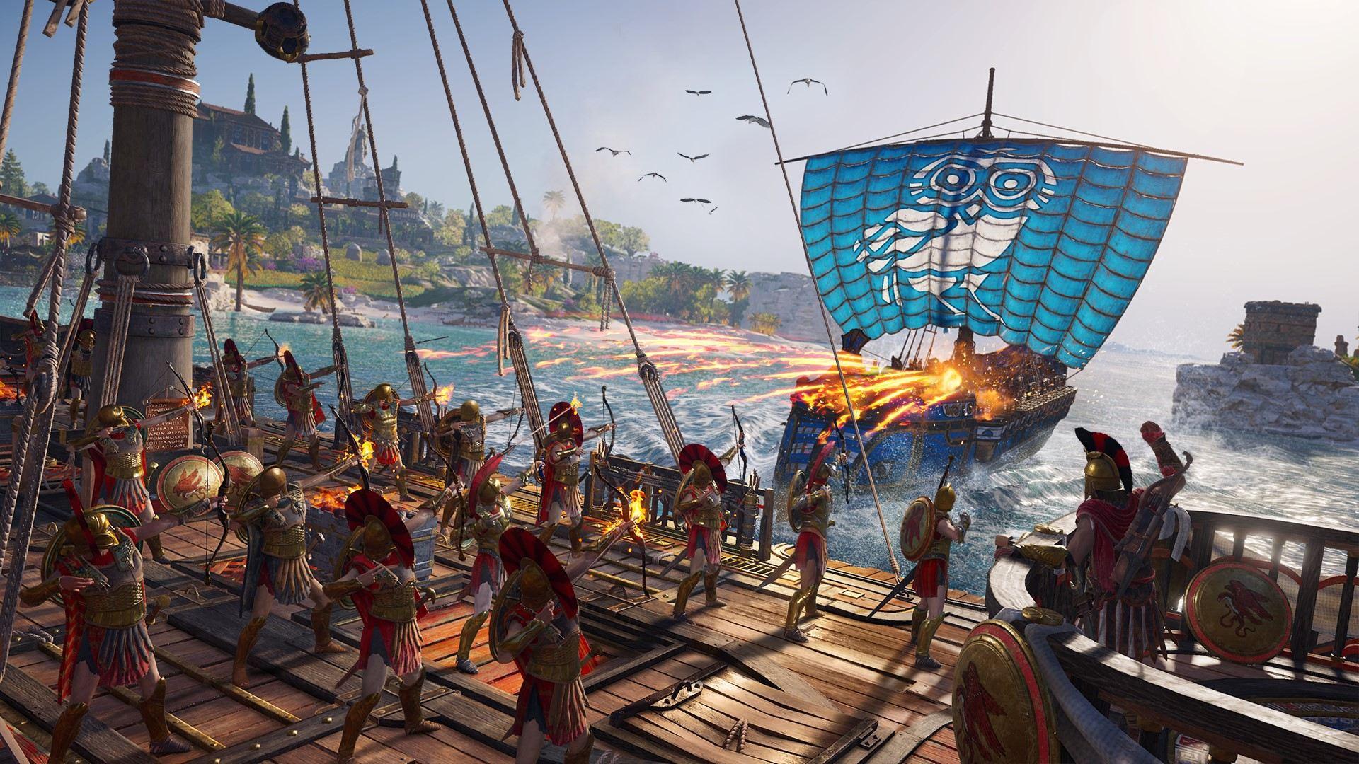 Оцените размер карты в Assassin's Creed Odyssey