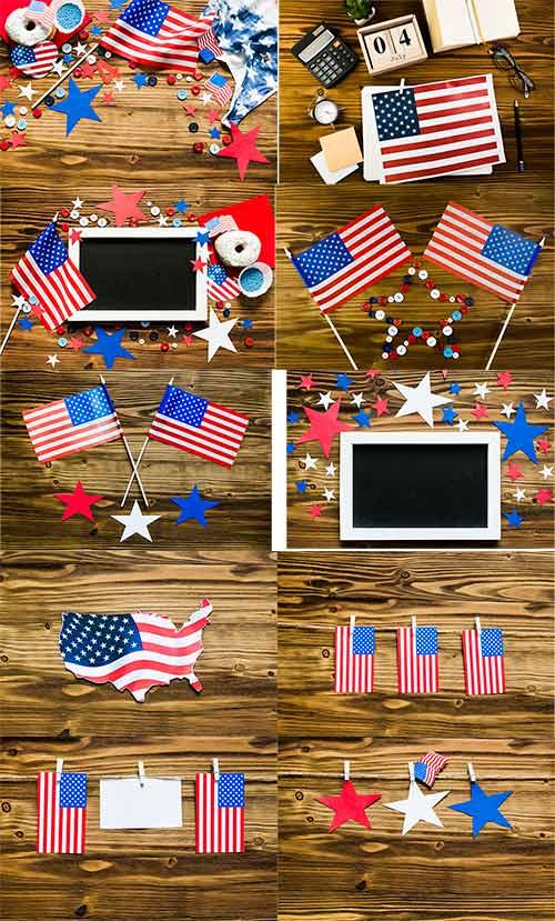 Растровый клипарт - День независимости США / Raster Graphics - US Independence Day