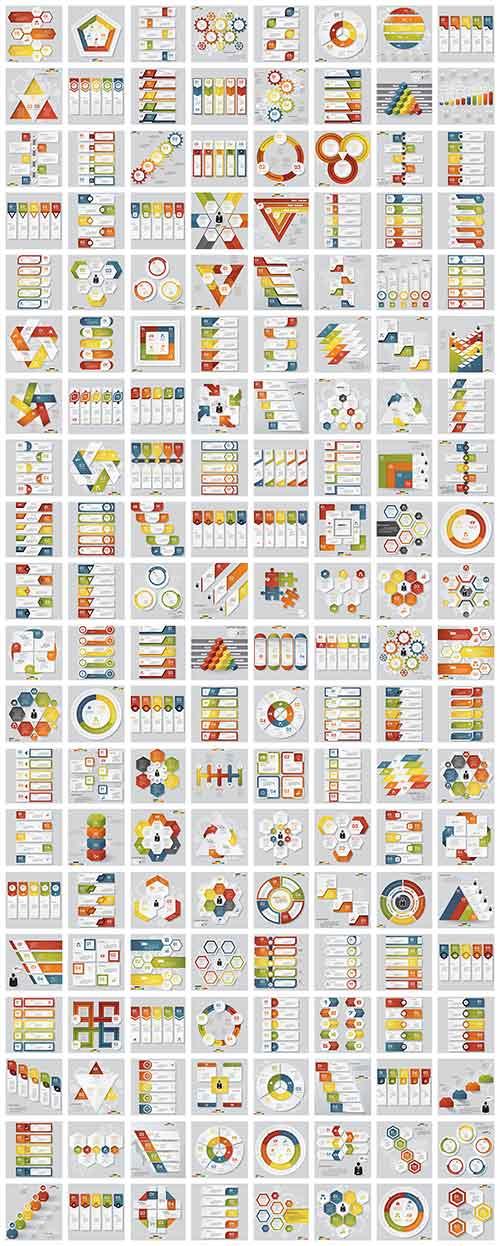 Инфографика в векторе / Infographics in vector