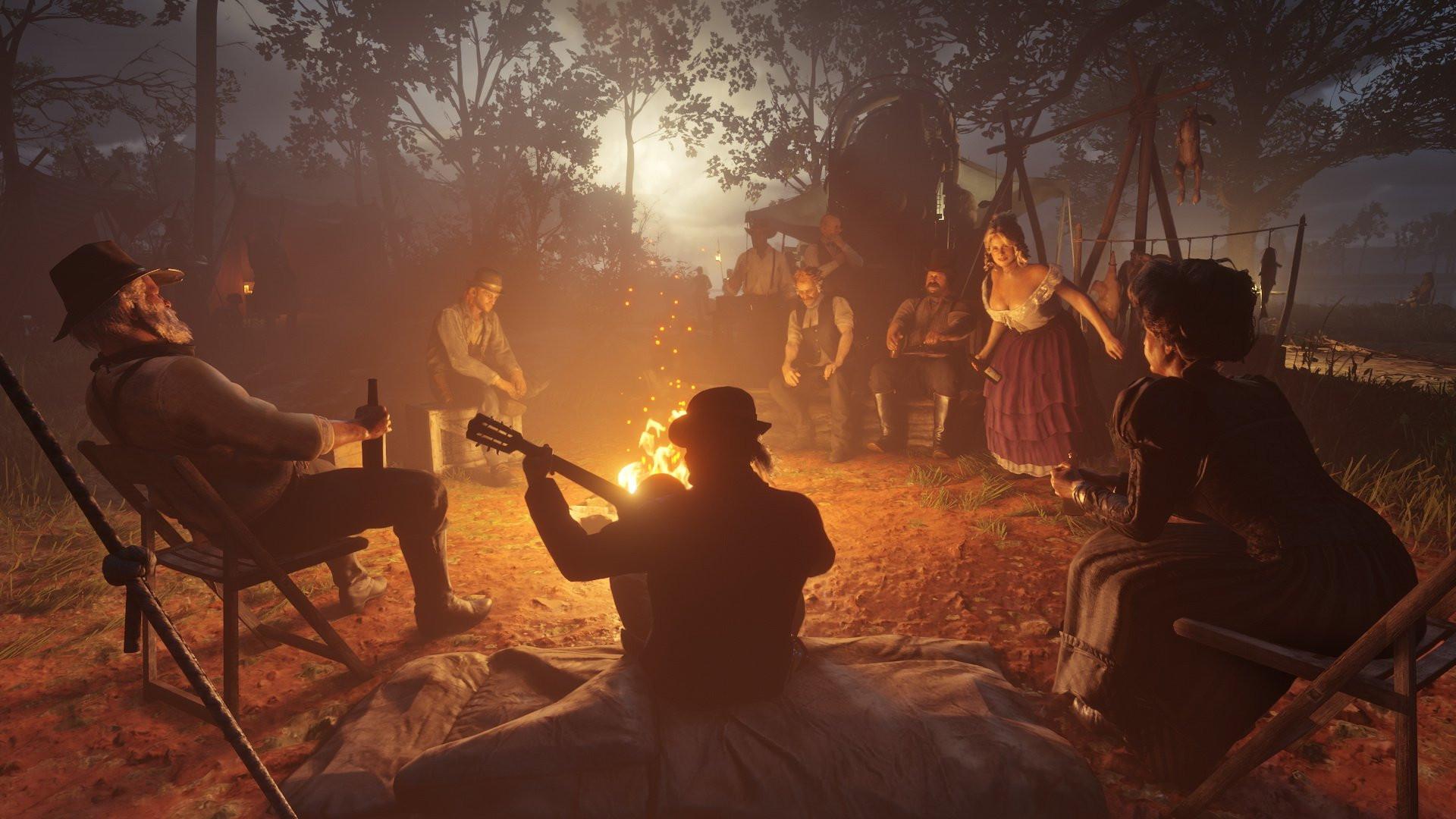 Геймплей Red Dead Redemption 2 показывали на E3 2018, но только избранным