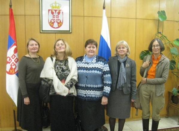Мария Мелькова, русско-сербское братство, Сербия, Косово и Метохия