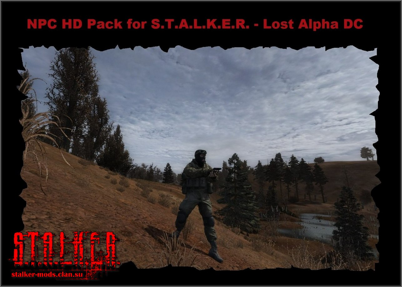 NPC HD Pack for Lost Alpha DC