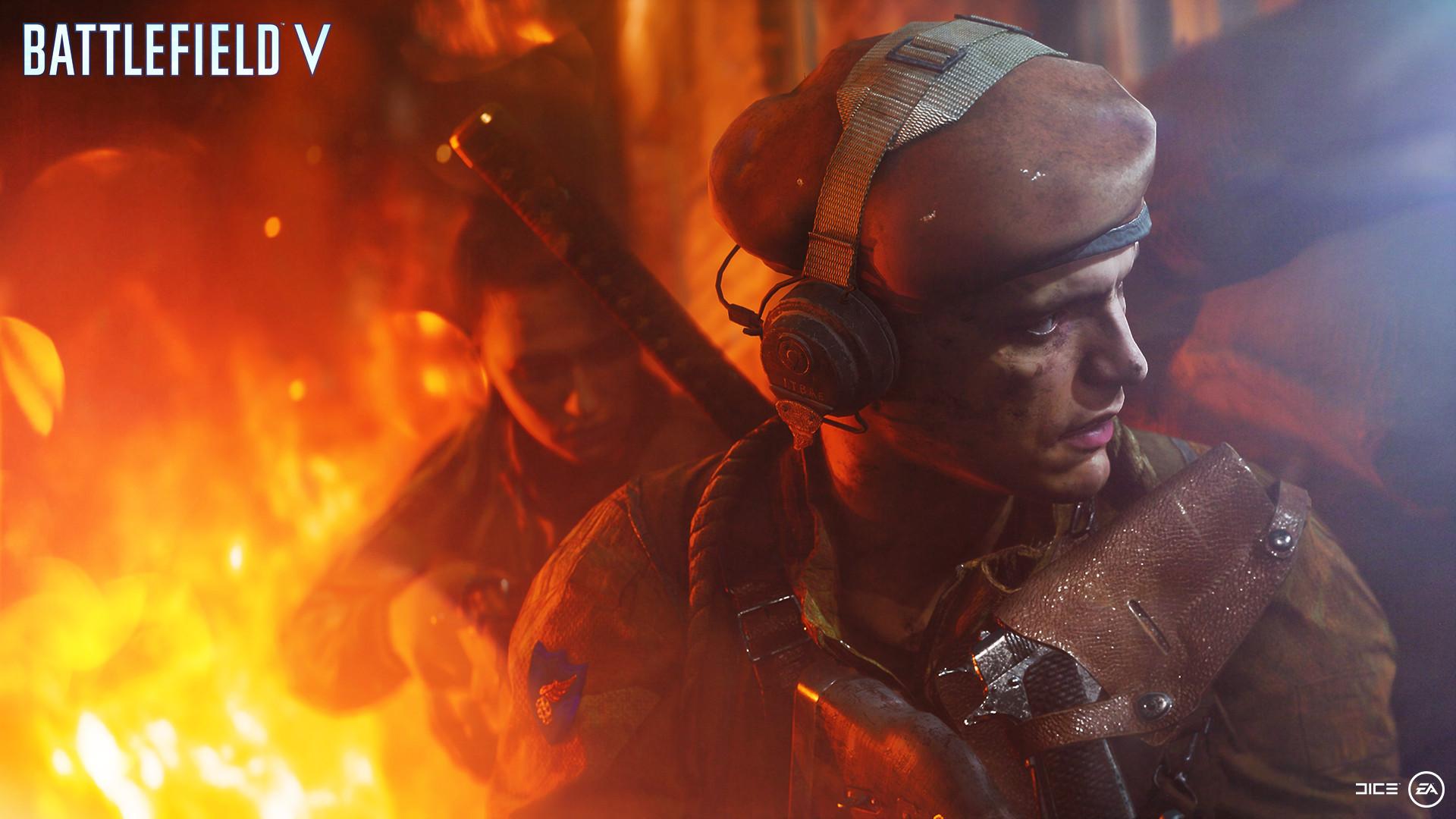 В Battlefield 5 действительно появятся катана и бита для крикета