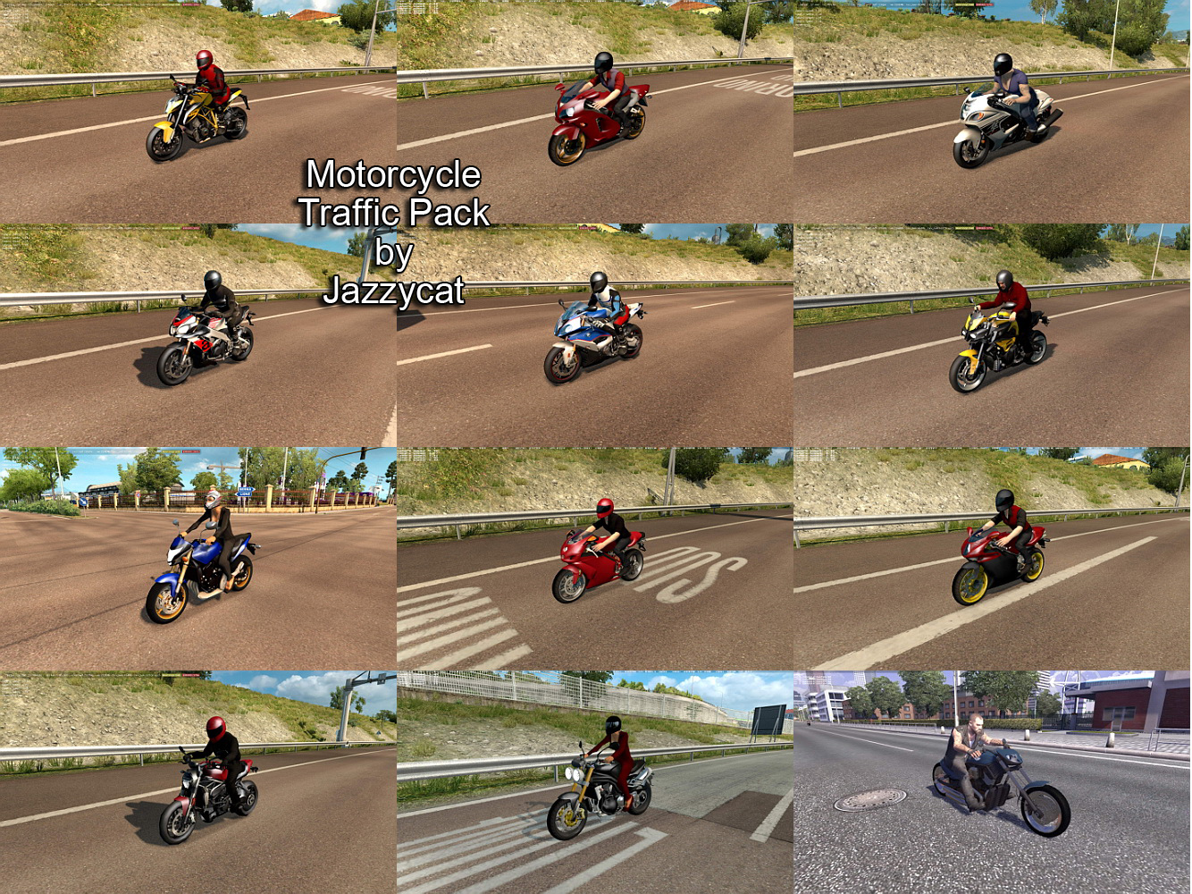 Motorcycle Traffic Pack v2.2