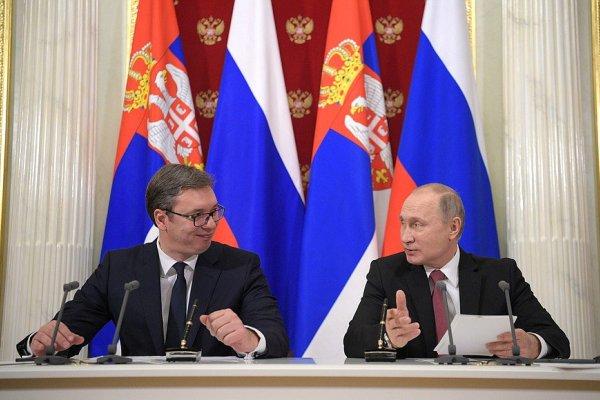 Сербия и Россия, президент Вучич, визиты, Путин