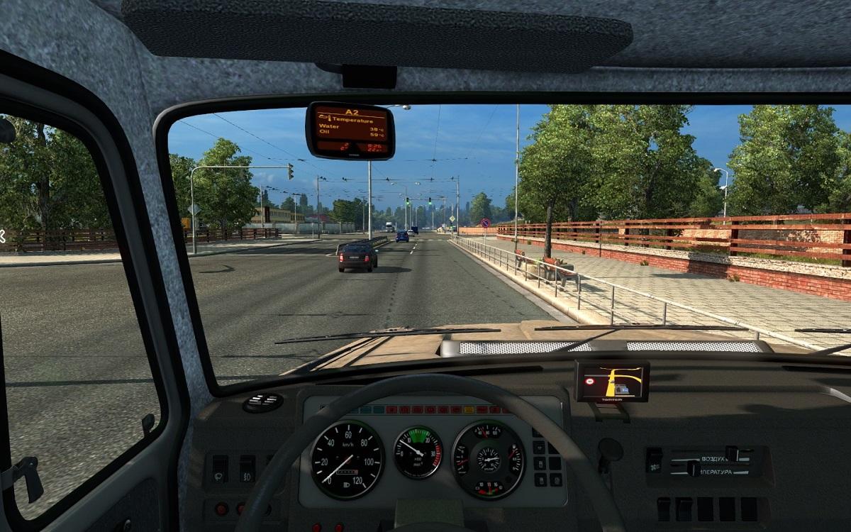 TomTom Navigator for ZIL 4421