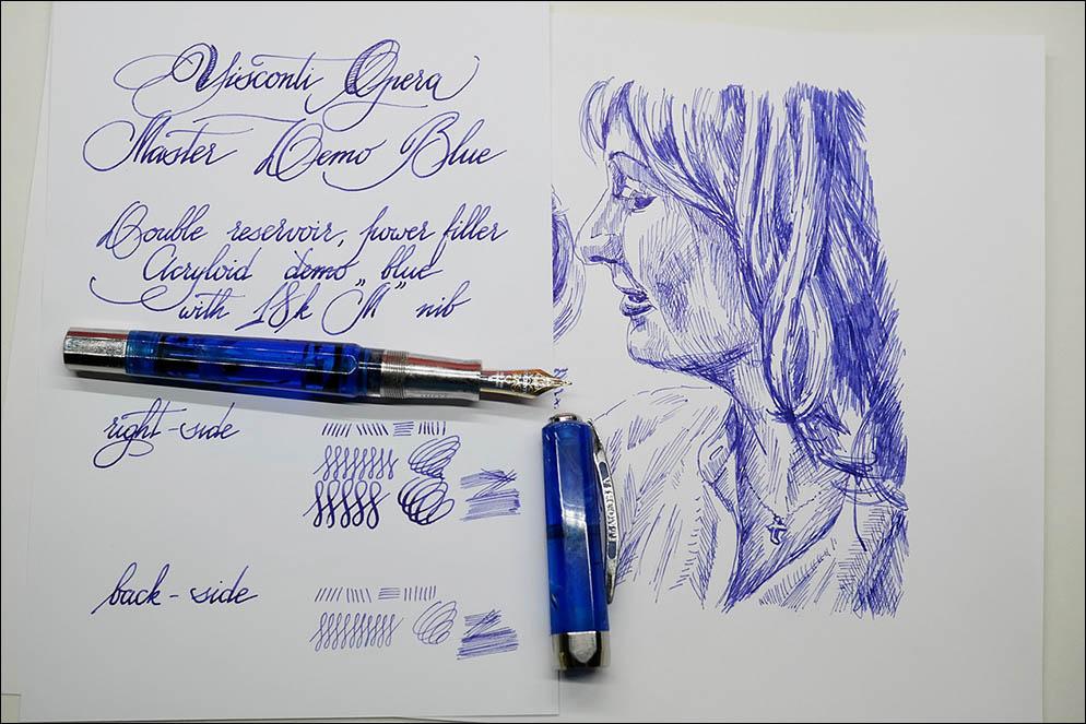 VISCONTI Opera Master Demo Blue
