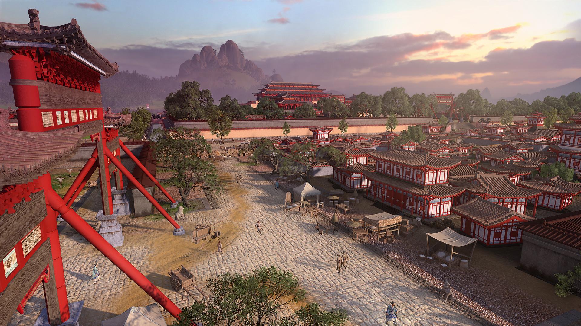 Посмотрите новые скриншоты исторической стратегии Total War: Three Kingdoms