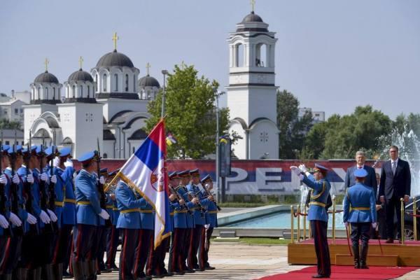 Сербия, Украина, Вучич, Порошенко, официальный визит