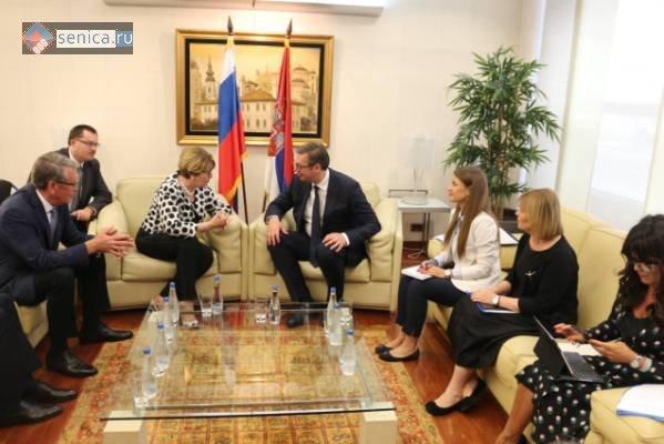 Сербия, Белград, Александр Вучич, Россотрудничество