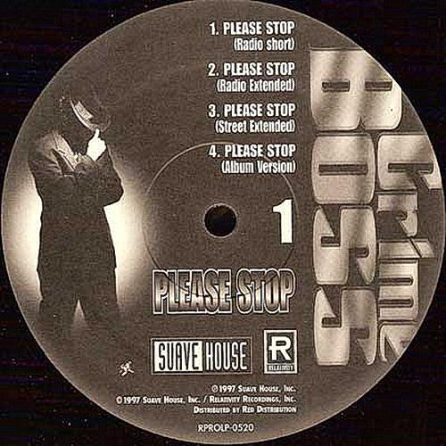Crime Boss - Please Stop (12'' Vinyl, Promo)