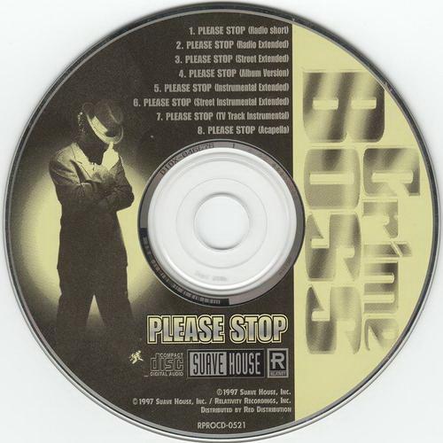 Crime Boss - Please Stop (CD Maxi-Single, Promo)