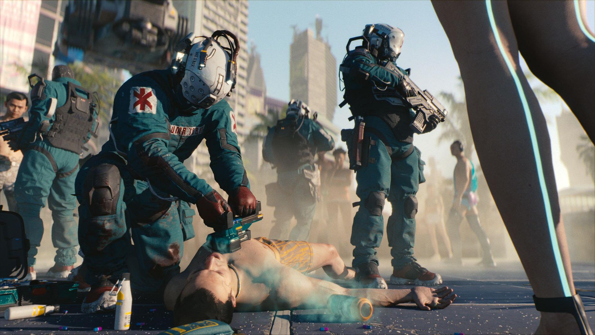 Геймплей Cyberpunk 2077 не показывают специально