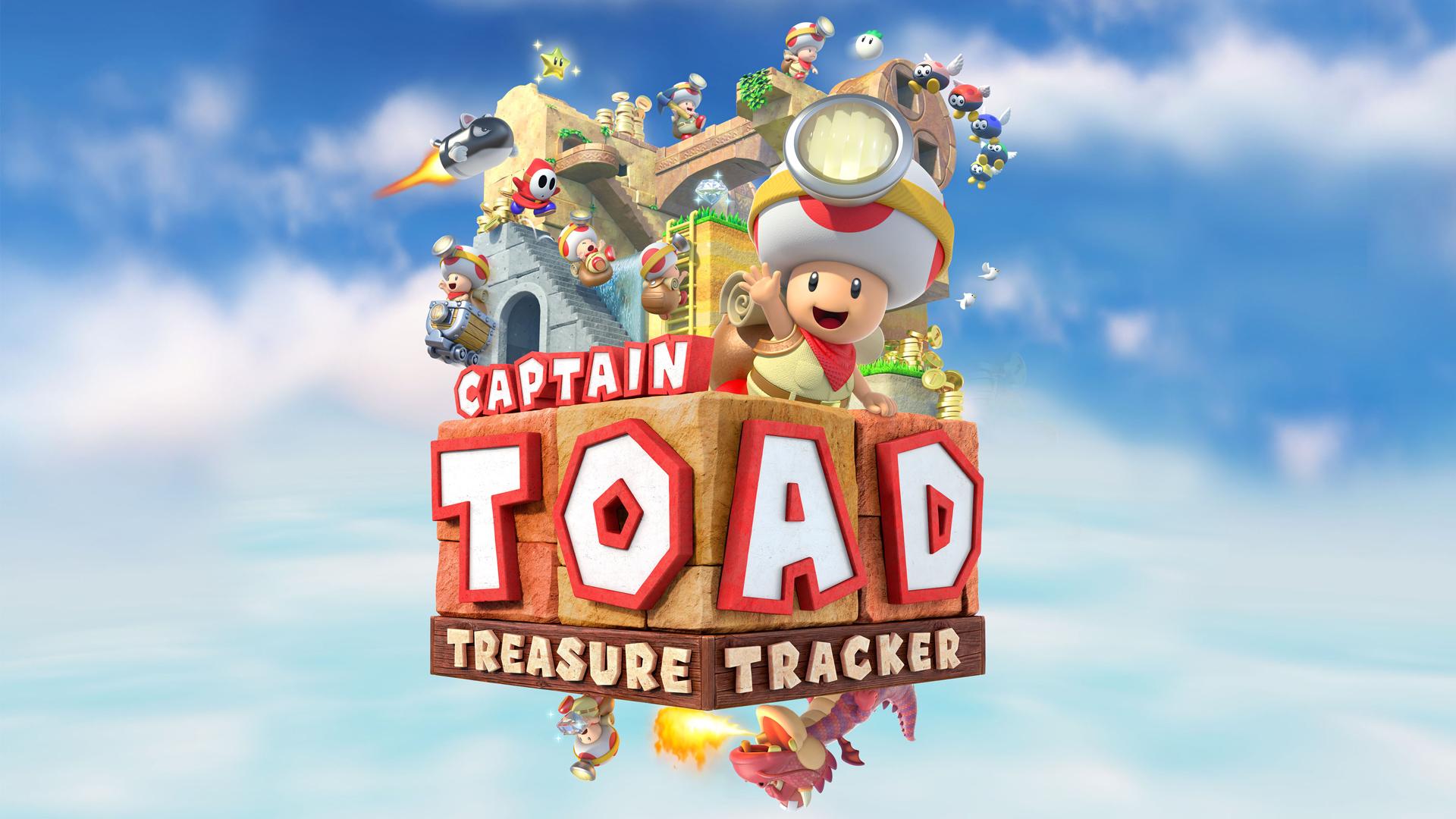 Обзор Captain Toad: Treasure Tracker — пазла в стиле Monument Valley с кооперативом