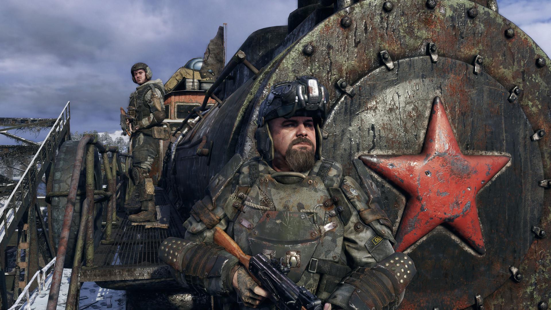 В Metro Exodus будут сотни деталей для улучшения оружия
