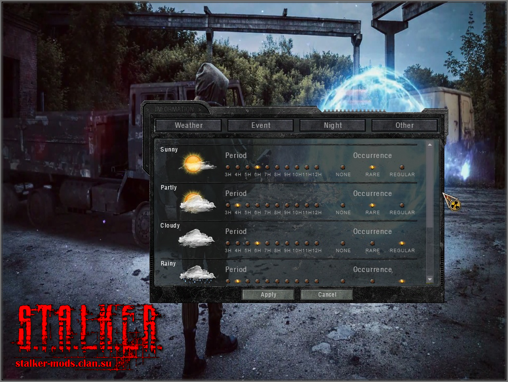Patch TRX with Dynamic menu