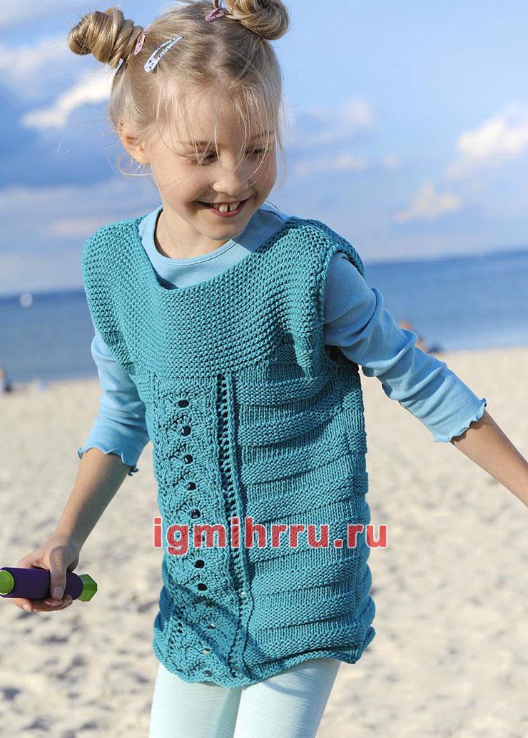 04f7f6a855d детская туника спицами - Самое интересное в блогах