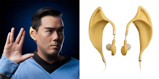 Беспроводная гарнитура Star Trek Wireless Vulcan Earbuds предназначена для фанатов Спока