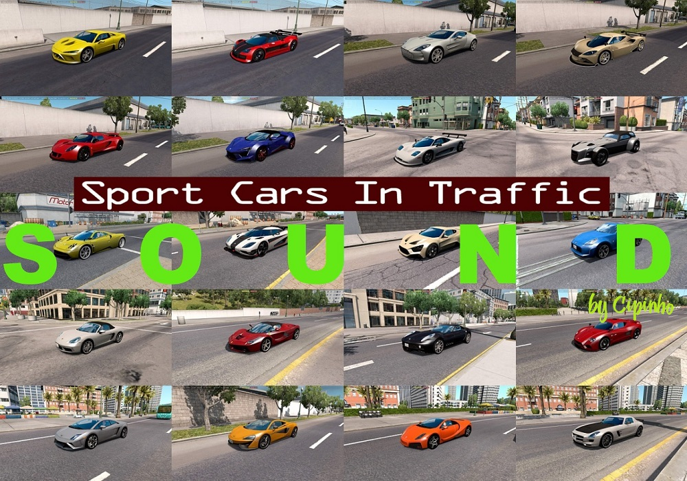 Sound mod for Sport cars v1.0