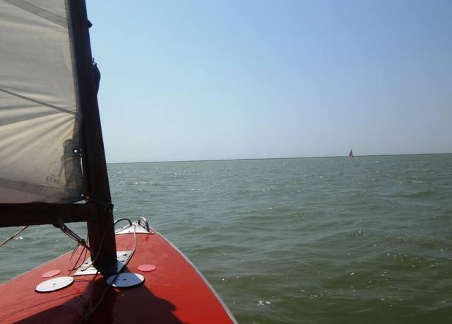 На празднике... Яхта и День ВМФ