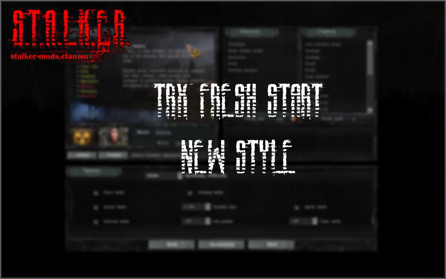 TRX:Fresh Start New style V2