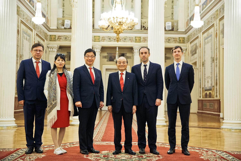 Экс-министр Южной Кореи Доктор о Менг
