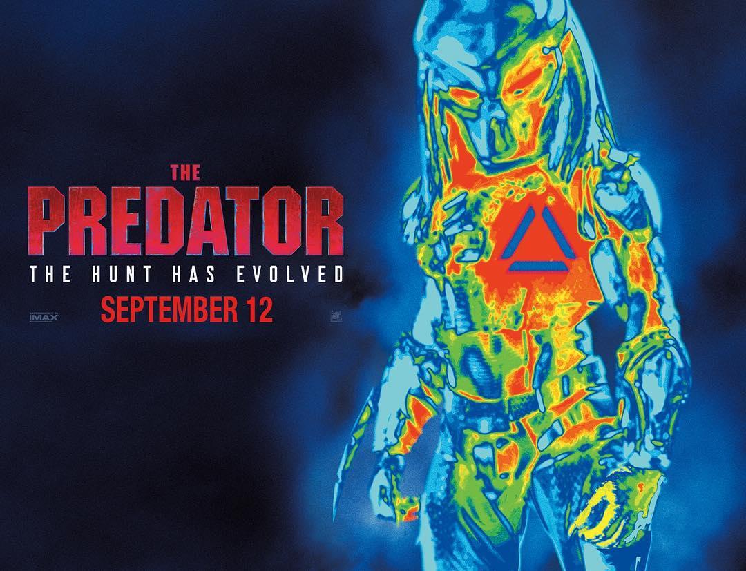 ผลการค้นหารูปภาพสำหรับ the predator 2018 poster