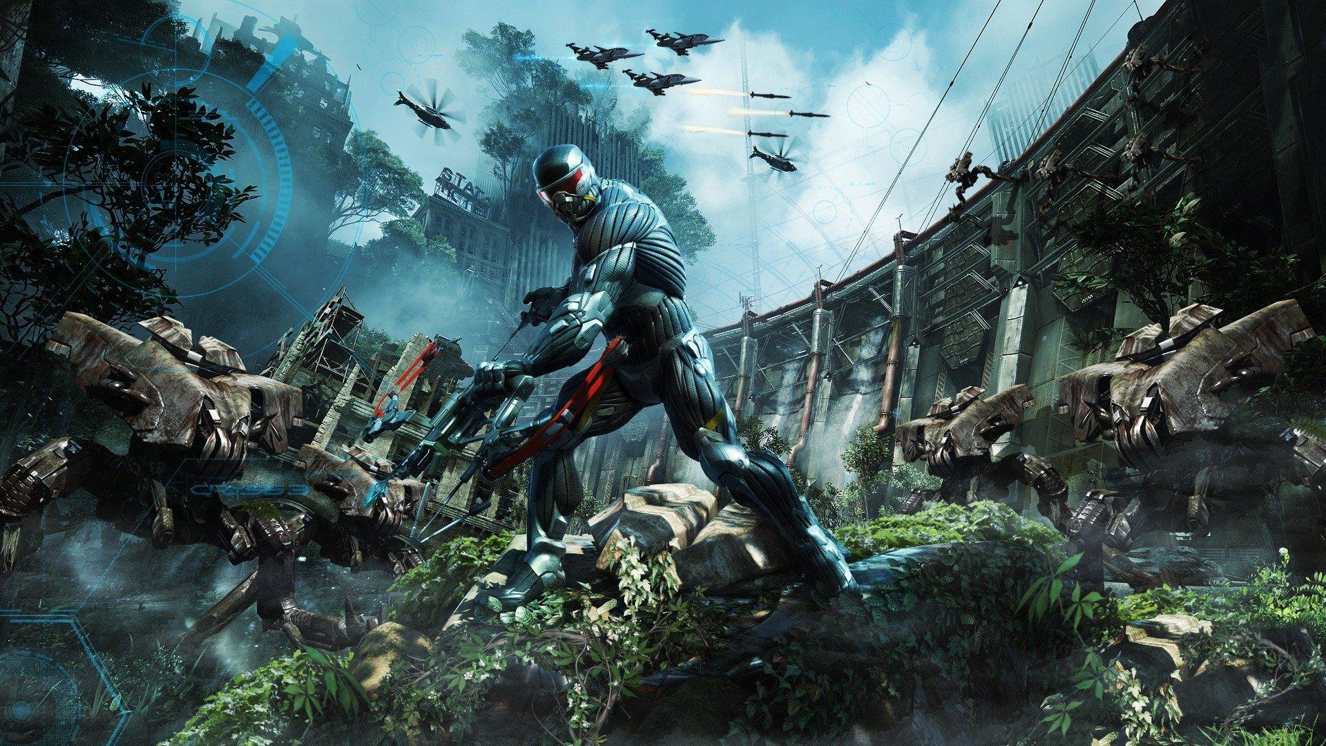 Фанаты выпустили Crysis с динозаврами и птеродактилями, которую можно скачать бесплатно на PC