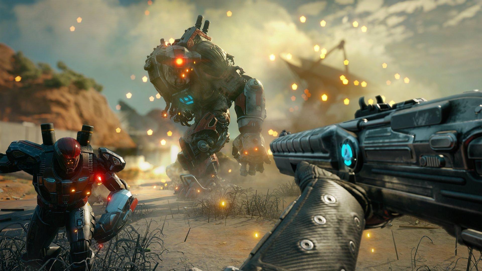 7 минут геймплея Rage 2 — погони в стиле «Безумного Макса» и яростные перестрелки
