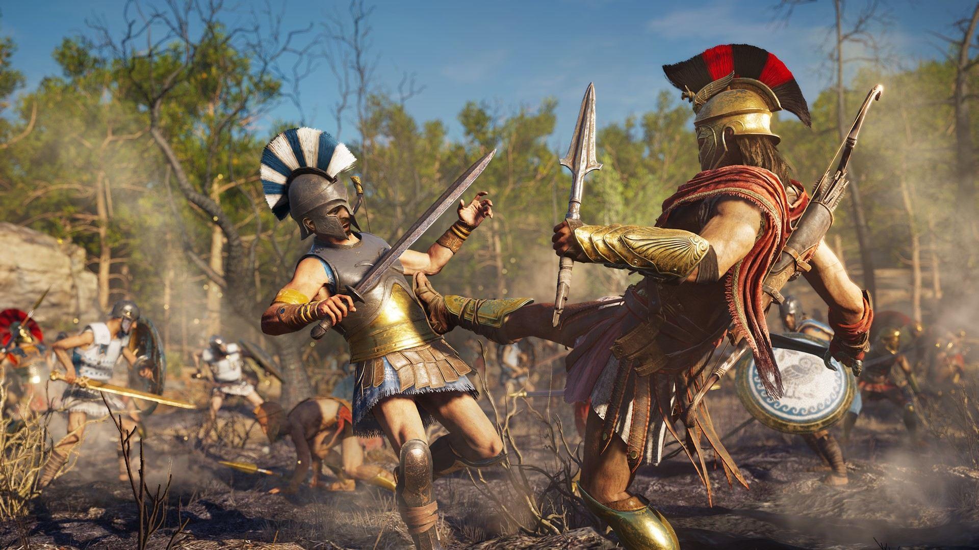 Новые подробности об Assassin's Creed Odyssey — охотники за головой игрока и команда главного героя