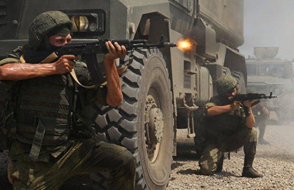 Сербия, военные учения, армия РФ