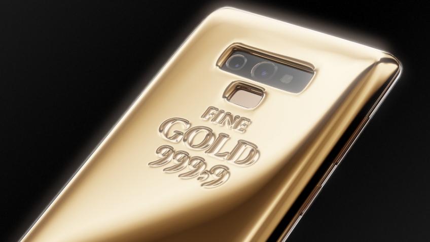 В России создан золотой Samsung Galaxy Note9