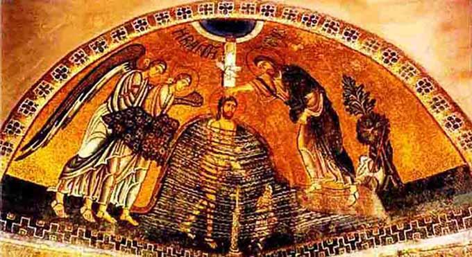 ქრისტეს ნათლობა იორდანეში