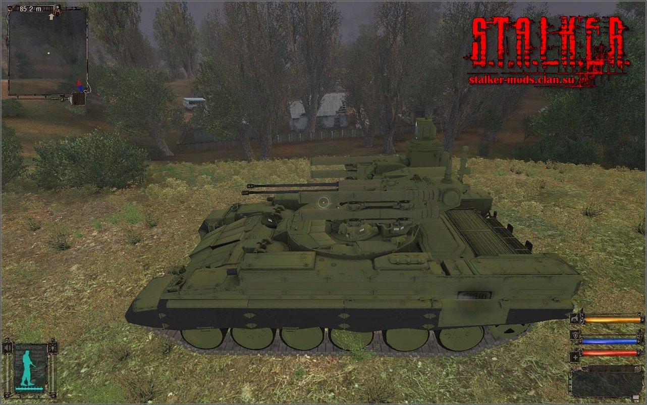Прототип БМПТ(БМОП) из Armored Warfare