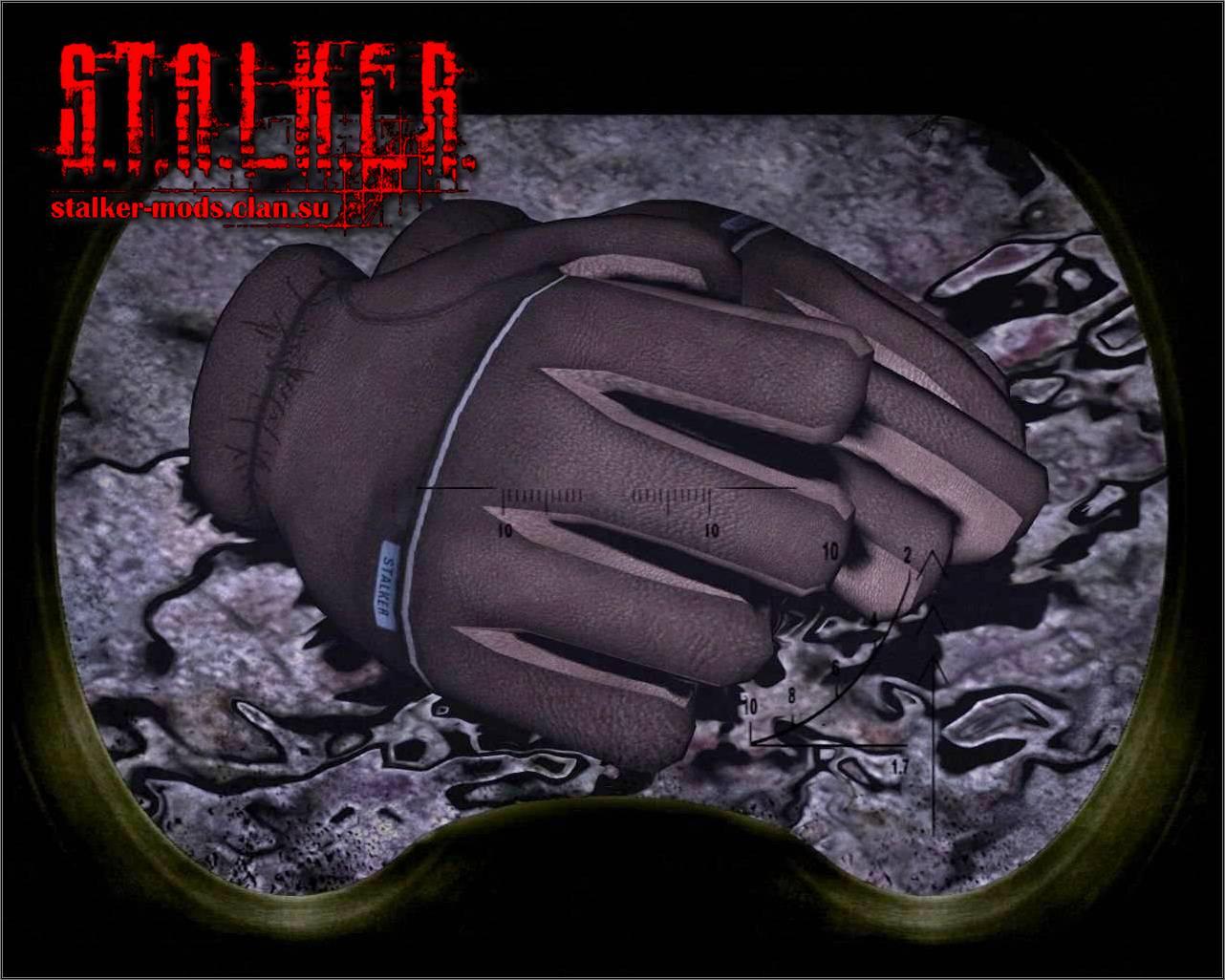 модель перчаток