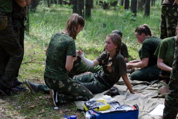 лагеря, сербские дети, физическое воспитание