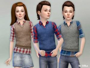 Для детей (топы, рубашки, свитера) - Страница 5 23024810