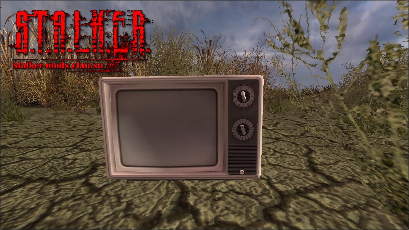 3д модель телевизора