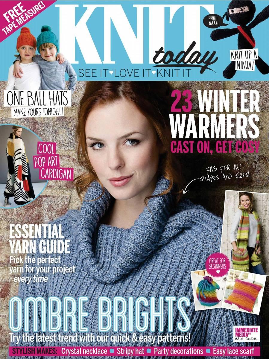 Журнал по вязанию Knit Today — №120 2016