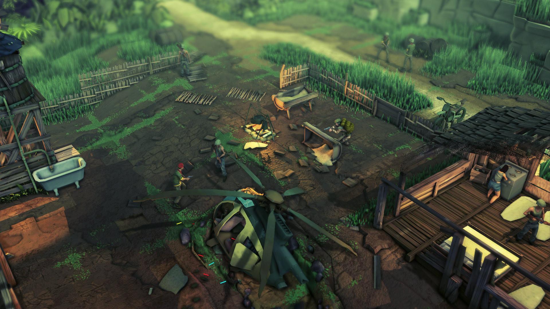 В геймплейном трейлере Jagged Alliance: Rage! раскрыли дату выхода