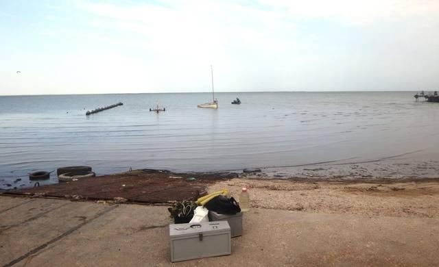 Фото-заметки яхтенного похода, 02.09.18., Азовское море, Кубань (1)