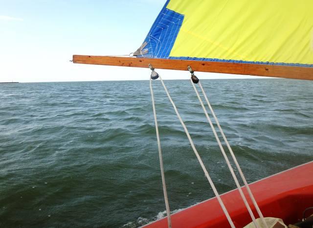 Фото-заметки яхтенного похода, 02.09.18., Азовское море, Кубань (2)
