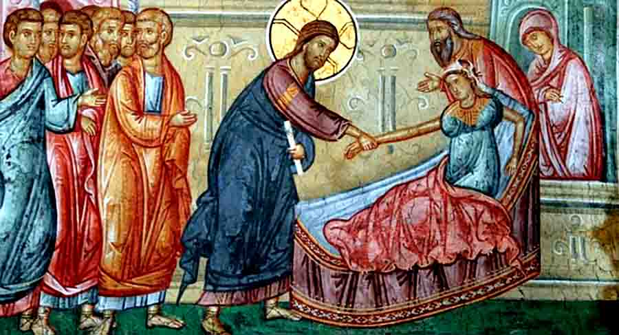 იაიროსის ქალიშვილის მკვდრეთით აღდგინება