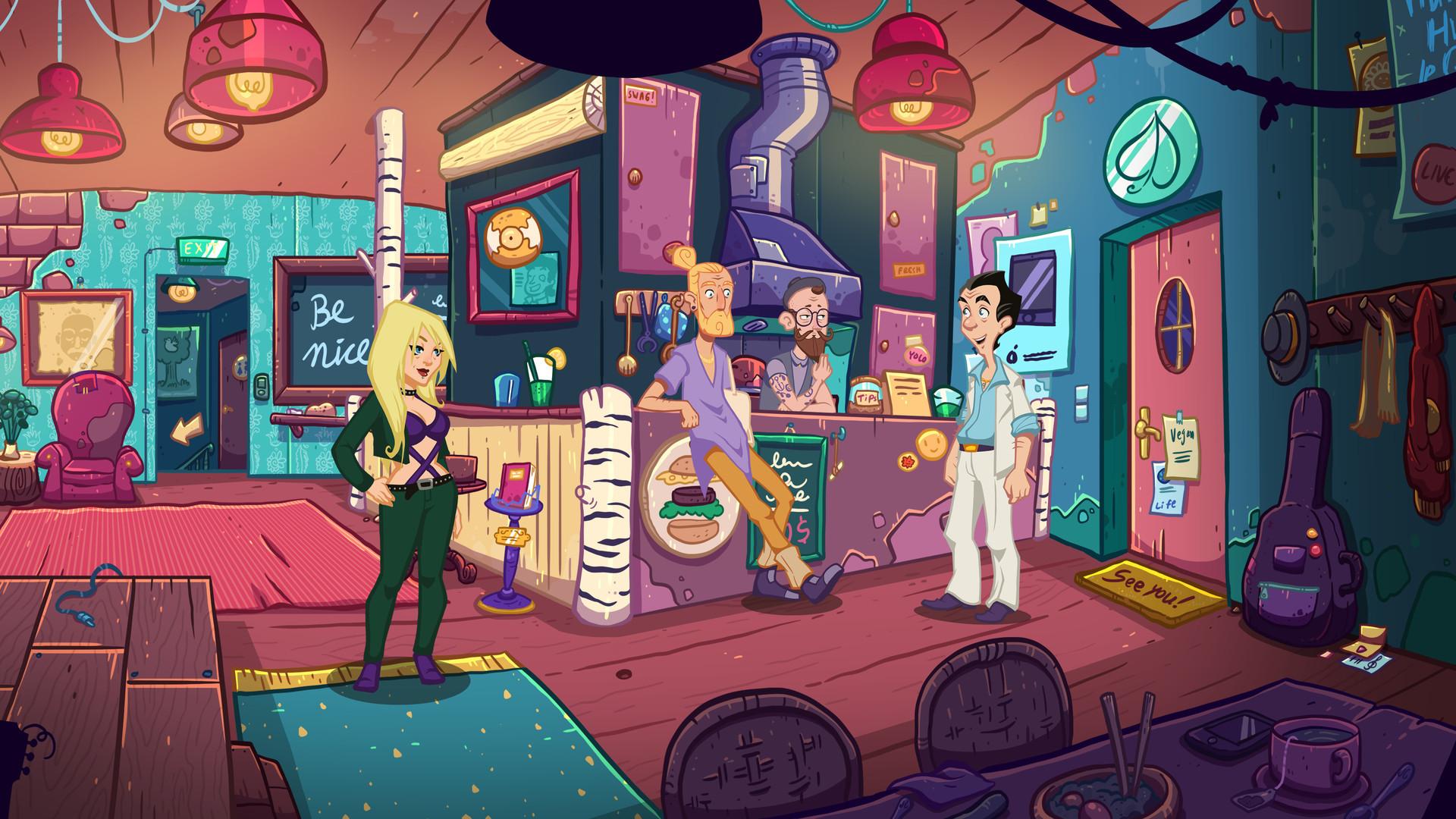 Первый трейлер новой части Leisure Suit Larry рассказал о пользе технологий